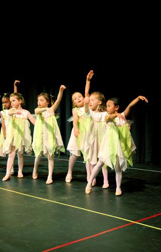 Flower Faeries ballet performance
