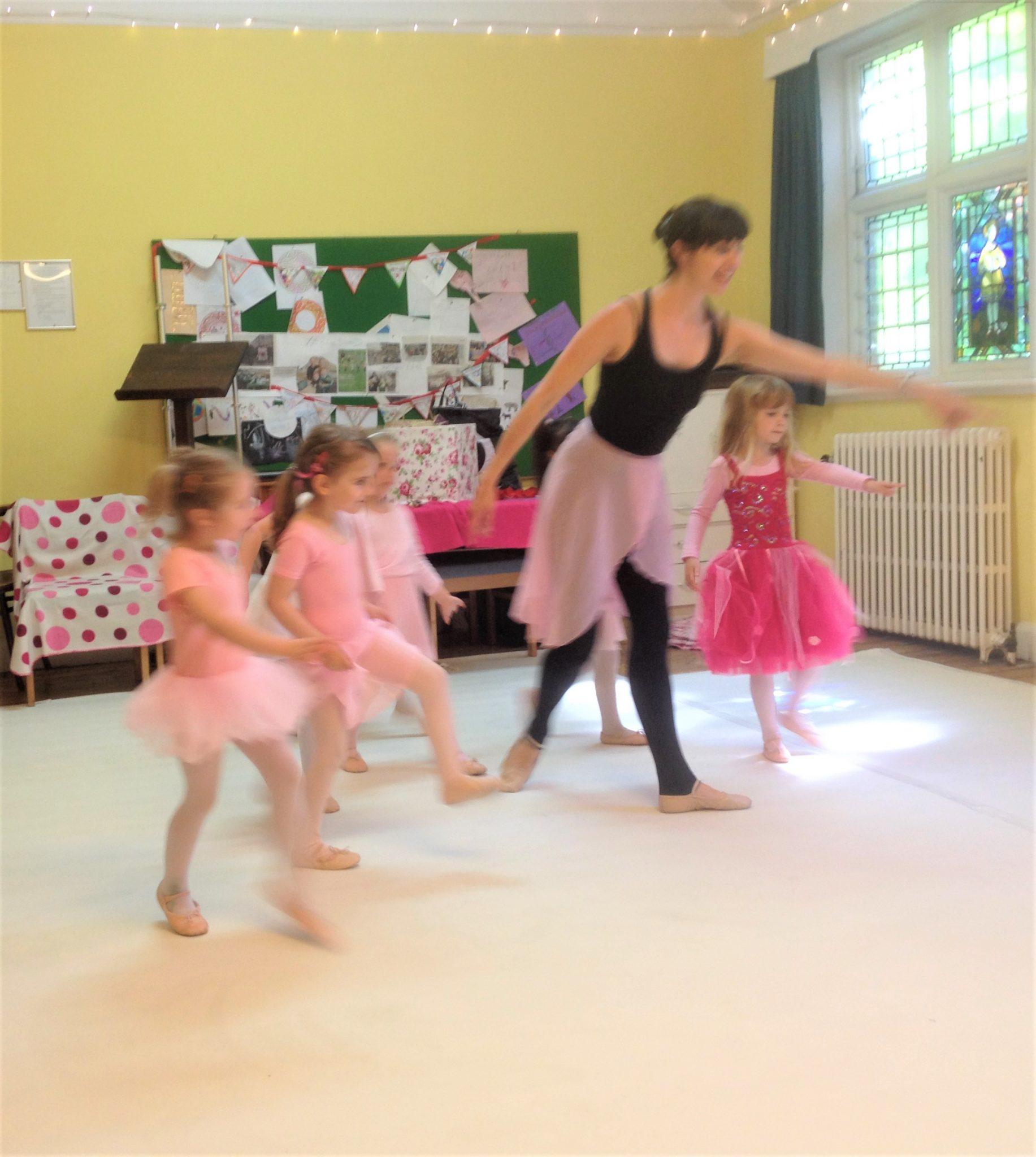 St Andrews preschool ballet classes