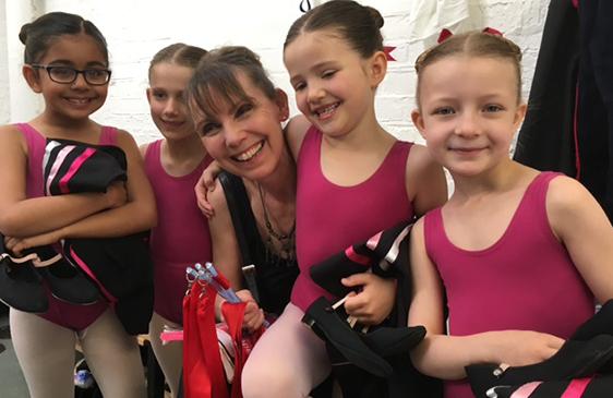 Graded ballet exams