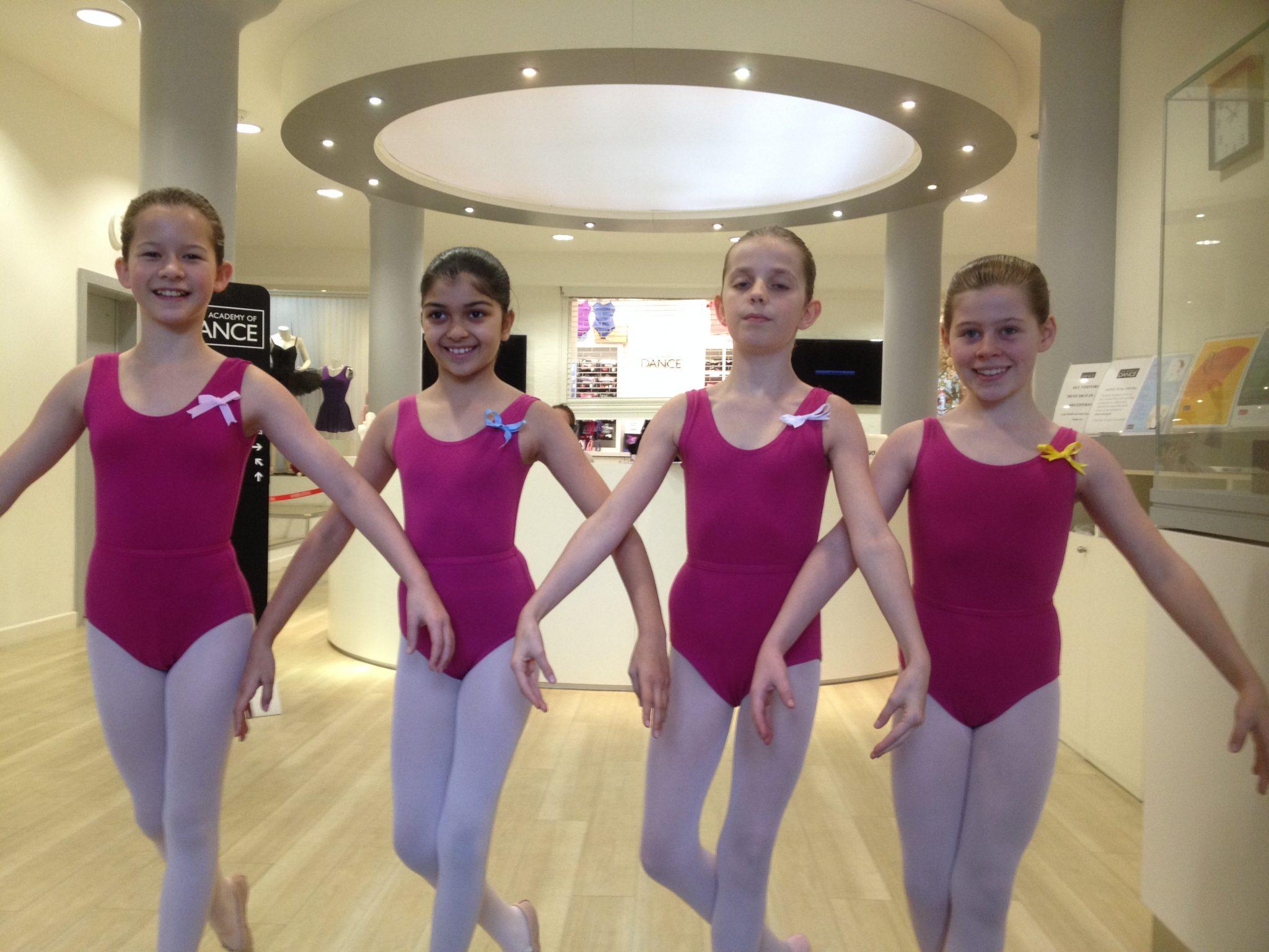 Ballet uniforms